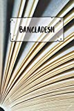 Bangladesh: Ruled Travel Diary Notebook or Journey  Journal - Lined Trip Pocketbook for Men and Women with Lines