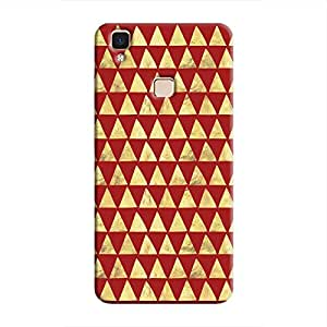 Cover It Up - Gold Triangle Tile V3 Max Hard Case
