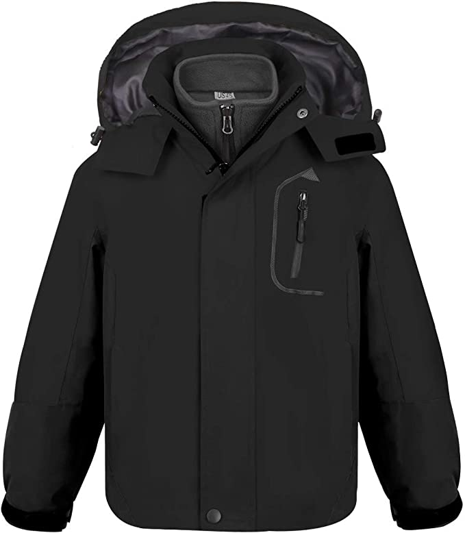 NOW £9.99 HIGEAR AGE 3 TO 4 RRP £30 BOYS 100/% WATERPROOF JACKET FREE P/&P