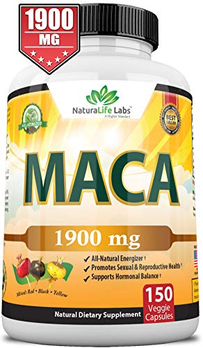 Organic Maca Root Black