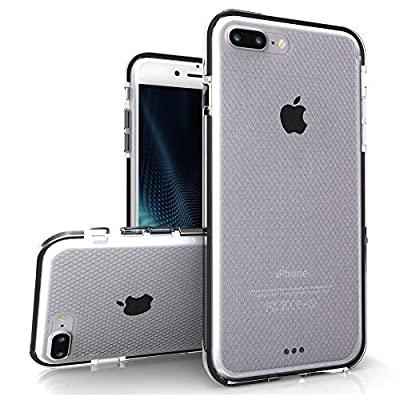 iPhone 7 Plus Case, Zizo [Pulse Series] Lightweight w/ Shockproof [Impact Dispersion Technology] and [Anti-Slip Grip] Single Layered iPhone 7 Plus