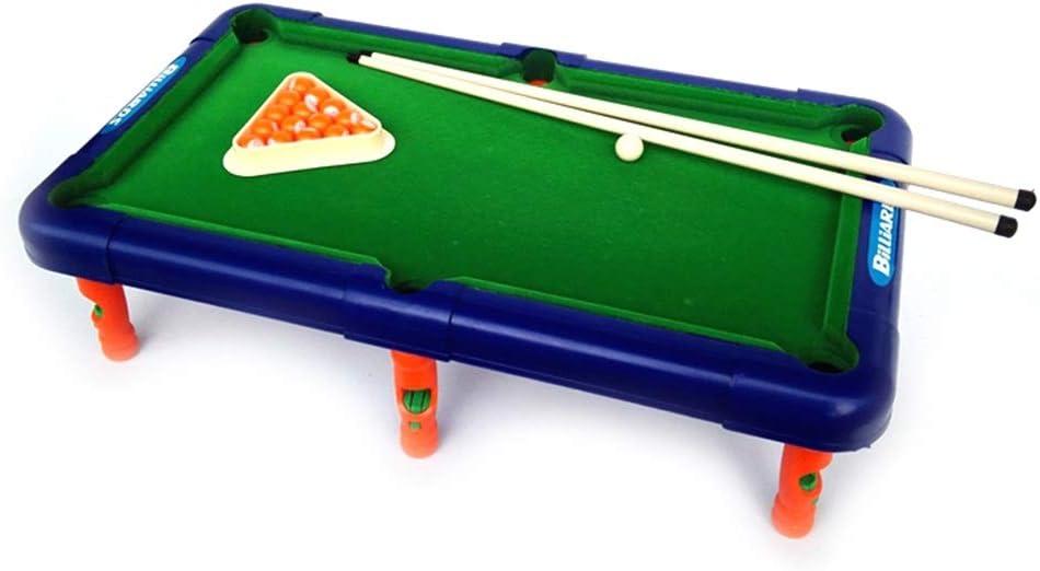 CaoDquan Mesa De Billar Juego De Billar Pool Mini Mesa Son Perfectos For Los Adultos De Todas Las Edades Mesa de Billar (Color : Green, Size : 43x24x12cm): Amazon.es: Hogar