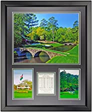 """Legends Never Die Augusta National Golf Course Framed Photo Collage, 16"""""""