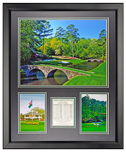 Legends Never Die Augusta National Golf Course Framed Photo Collage, 16