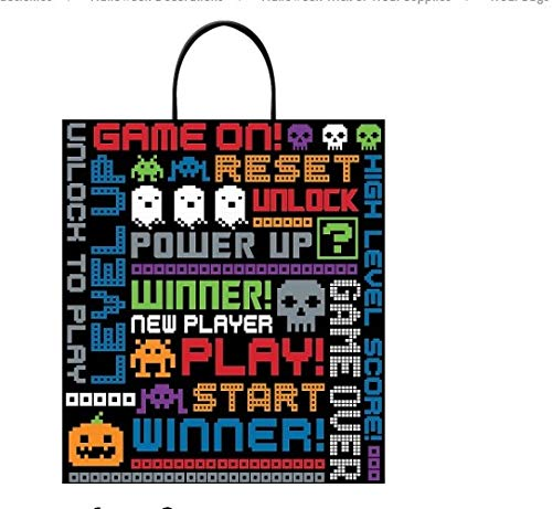 Halloween Trick Or Treat Bag Ideas (Video Game Themed Trick or Treat Bag for Halloween or Anytime)