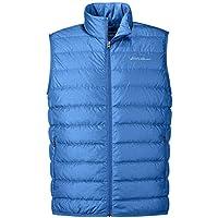 Eddie Bauer Men's CirrusLite Down Vest (Imperial Blue/Olive)