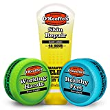 O'Keeffe's Working Hands, Healthy Feet, Skin Repair Variety Pack