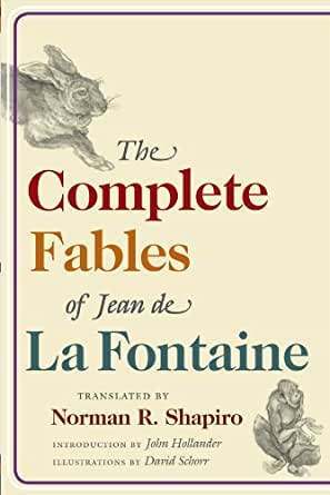 Selected Fables and Tales of LA Fontaine Love /& Folly