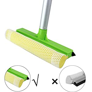 2 in 1 Window Cleaning Mesh Scrubber And Professional Window Squeegee Washing Tools Of Car Glass Cleaning