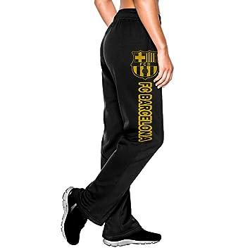 66b467520 GFGR Women's Fashion Workout Sweaterpants Barcelona FC Black M ...