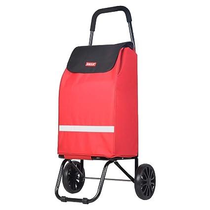 Amazon.com: Carrito de mano plegable con ruedas de ABS ...