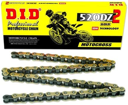 520ATV-92 Gold X-Ring Chain with Connecting Links D.I.D