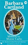 Mission to Monte Carlo by Barbara Cartland front cover