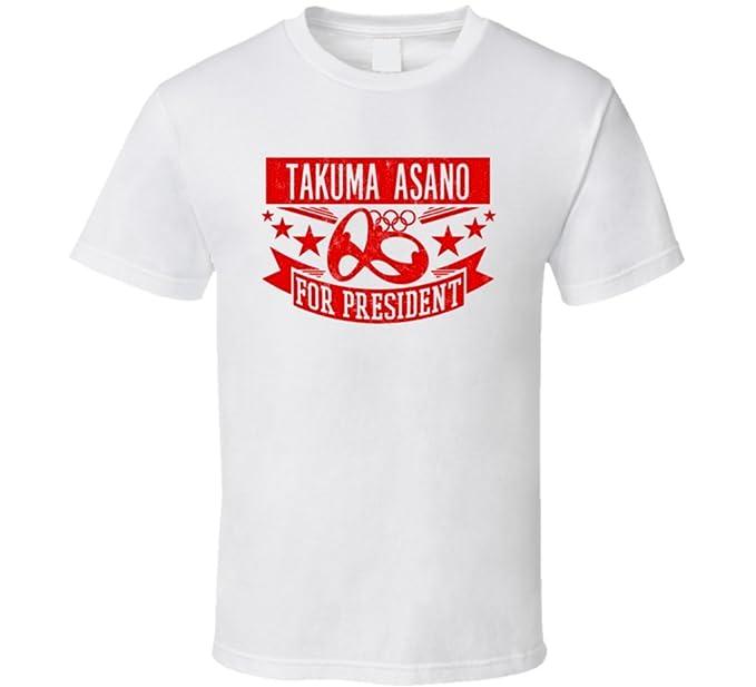 Takuma Asano para Presidente camiseta de fútbol de Japón: Amazon.es: Ropa y accesorios