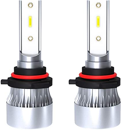 Youfxn Bombilla LED para Faros Compatible con 9006 / HB4 60W 6000LM 6000K Caja de Aluminio Blanco para Faros de automóvil Accesorios para Autos Faros de los Coches Bombillas: Amazon.es: Hogar