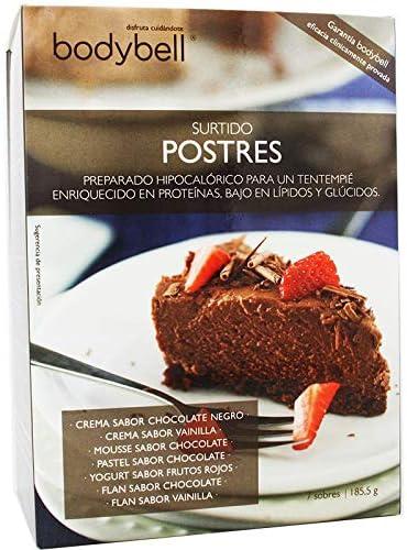 Bodybell Surtido Postres 7 Sobres: Amazon.es: Salud y cuidado ...