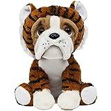 Pelúcia Bulldog Tigrinho, Buba Toys, Multicor, Médio