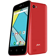 """Unlocked Smart Cell Phone 4G GSM 4"""" Display Android 6.1 Quad Core 8GB Memory Dual Sim - Z407 Red"""