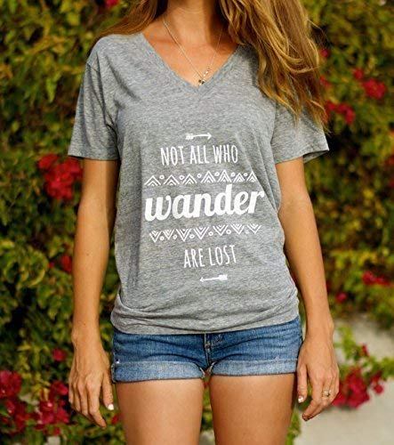 Not All Who Wander Are Lost Shirt - Not All Who Wander Are Lost T Shirt - Lord of the Rings Shirt - Boho Clothing - Boho Clothing - Bohemian Clothing - Hippie Clothes - Hippie Shirt
