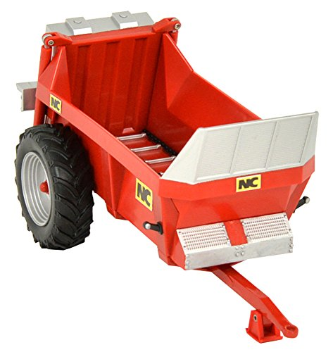 Britains 1:32 NC Rear Discharge Manure Spreader - Collectable Farm Toy Attachment - Compatible with All 1:32 Vehicles - Suitable from 3 Years ()