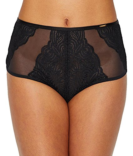 Chantelle Pyramide Full Brief, XL, Black