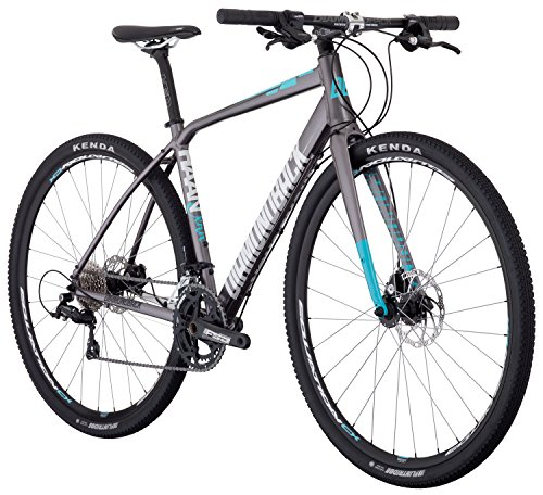Diamondback Bicycles Haanjenn Women's All Road Bicycle, Silver, 53cm/Medium