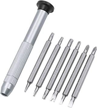 Y1 Triwing Destornillador T5 T6 T8 T9 T10 Torx Destornillador Magnético Set para MacBook Xbox One Controlador Wii DS Lite Kit de Herramientas de Reparación: Amazon.es: Bricolaje y herramientas