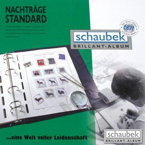 Schaubek 643/B-III/15 Bund - Zehnerbogensortiment III/2015