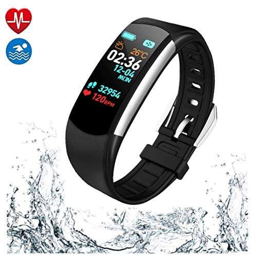 PGTC Fitness Wristband Activity Tracker Watch with...