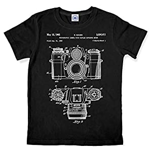 Hank Player '35mm Camera Patent' Men's T-Shirt