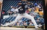 Signed Freddy Peralta Photo - 8X10 COA - Autographed MLB Photos