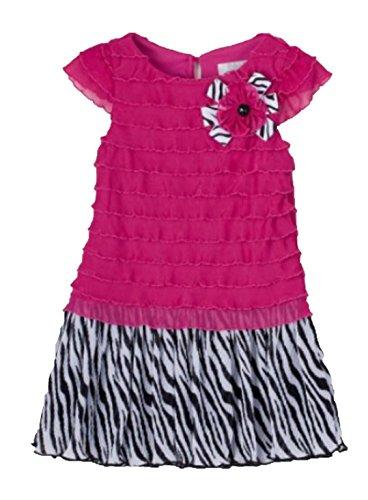 Zebra Print Formal Dress - 5
