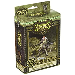 Privateer Press – Hordes – Circle Orboros: Wolf Lord Morraig Model Kit