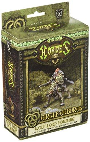 Privateer Press - Hordes - Circle Orboros: Wolf Lord Morraig Model Kit 3