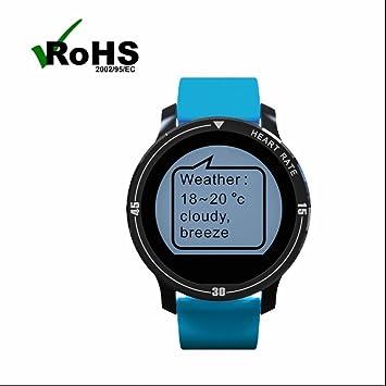 Fitness Tracker Deportes relojes con Alarmas Silenciosas,Seguimiento de calorías,Monitorización del sueño,Cámara control,Actividad Monitor,Monitores de ...