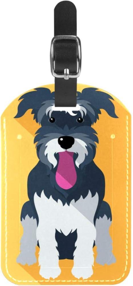 Etiquetas para Equipaje con Lengua para Perro y Maleta de Viaje, 1 Paquete