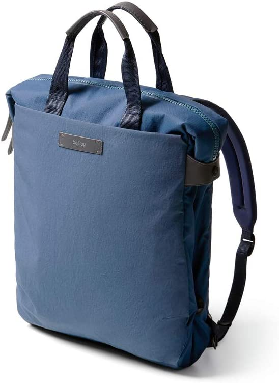 """Bellroy Duo Totepack (Convertible Backpack Tote, Fits 15"""" Laptops) - Marine Blue"""