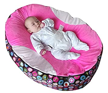 mit verstellbarem Sicherheitsgurt /& 2/Bez/ügen Mama Baba Baby-Sitzsack