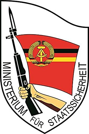 U24 Aufkleber Ddr Stasi Wappen Emblem Autoaufkleber Sticker Konturschnitt Auto