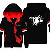 Vicwin-One Akame Ga Kill Logo Thick Hoodie Pullover Cosplay (Size S)