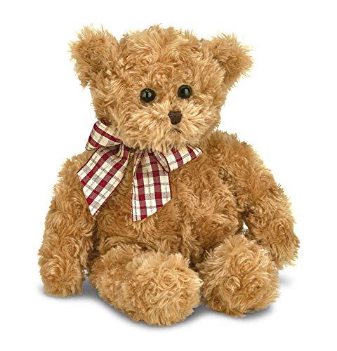 Bearington Baby Wuggles Brown Plush Stuffed Animal Teddy Bear, 13 ()