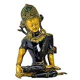 Gangesindia Brass Statue - King of Heaven Indra Deva