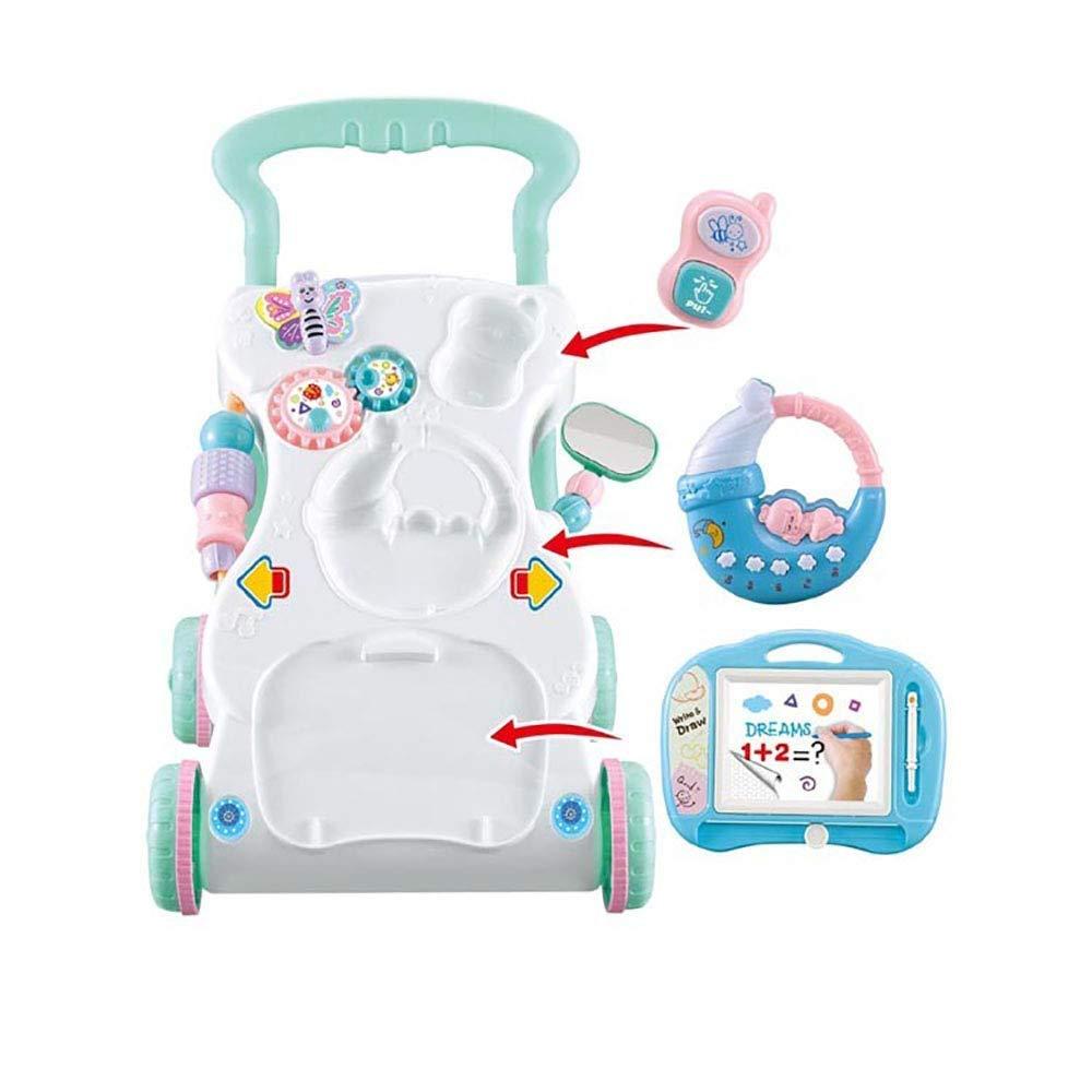Yyqt Baby Walker- Bandeja de juegos multifunción Niño temprano ...