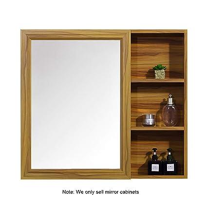 Mirror Cabinet Wall Mounted Bathroom Bathroom Mirror With Shelf Simple  Bathroom Cabinet Wall Mirror Cabinet