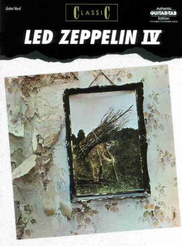 Classic Led Zeppelin IV, Authentic Guitar Tab Edition Delta Blues Guitar Tabs
