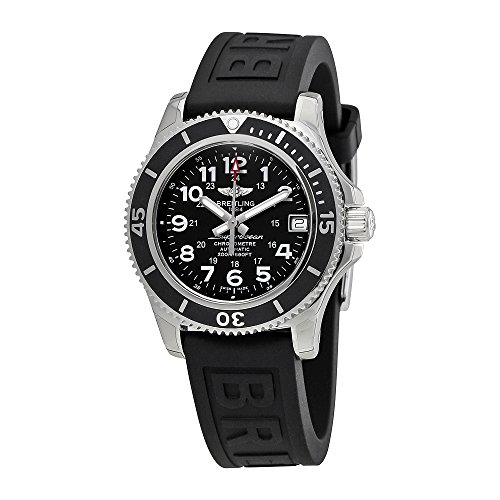 Breitling Superocean II Automatic Black Dial Mens Watch A17312C9-BD91BKPT3