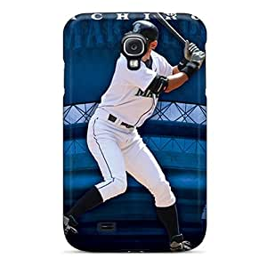 High Quality Phone Case For Samsung Galaxy S4 With Support Your Personal Customized Lifelike Seattle Mariners Series DannyLCHEUNG