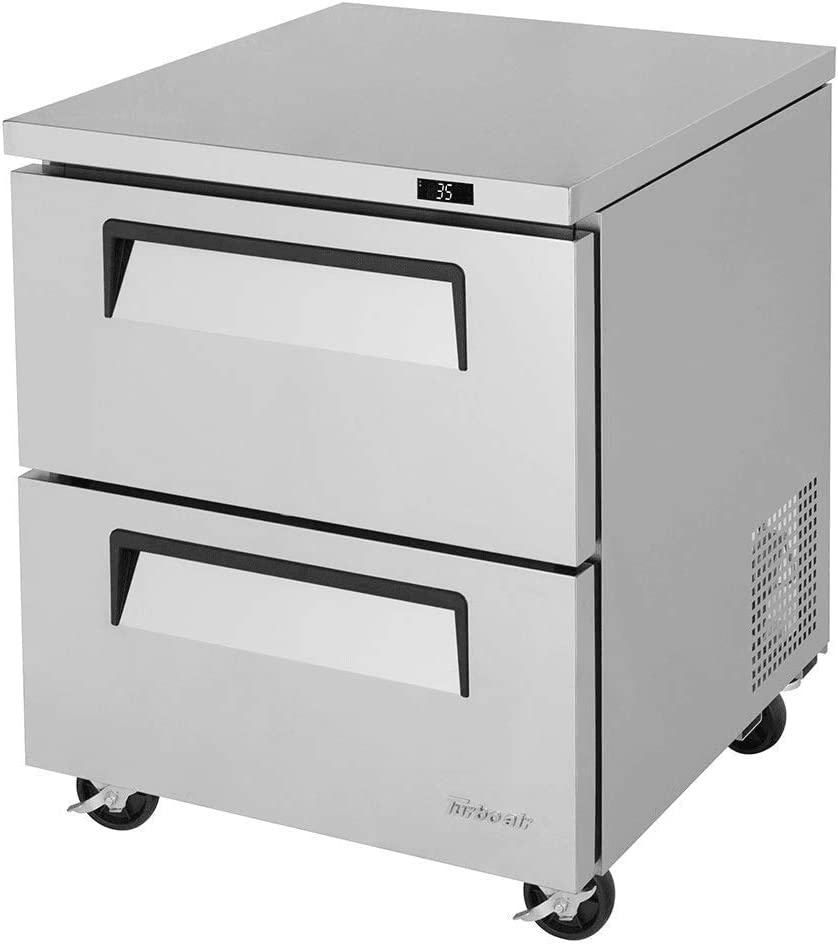 28in Commercial Undercounter 7cuft Freezer with 2 Drawers 51iotxDih-LSL1000_