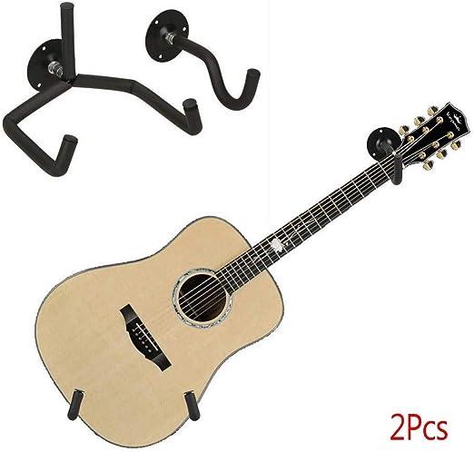 ZPADJTGG Guitarra Dividida Diagonal Colgante de Pared Percha ...