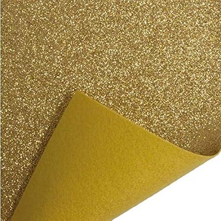 A4 Hoja Juguetes Crafts Fieltro Acrílico Trimits-Dorado 23cm X 30cm